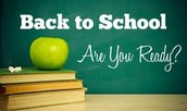The first day of school is getting closer! Are you ready?