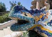 The Park Güell is a garden park in Barcelona, designed by Antonio Gaudí. The Park Güell is the best representative of architectural modernism in Catalonia.