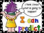 Make Predictions~ Stay focused on reading!