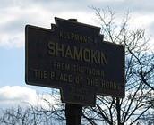 Shamokin Sign