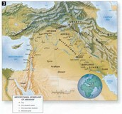 Map if the Assyrian Civilization