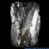 Iron crystallized