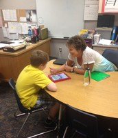 Mrs. Wilson doing what she does best!