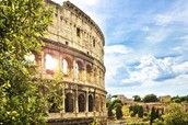 Brief history of the Coloseum in Rome.