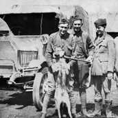 Walt with Red Cross in France (1918)