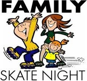Family Skate Night has been postponed until Fall 2015