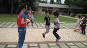 校園跳繩比賽熱烈展開 各班好手同場競技