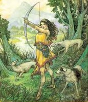 Artemis with Bow and Arrow