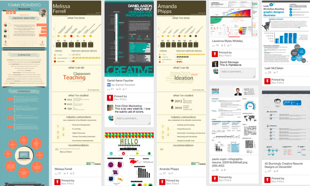 tools to create visual resumes - Visual Resume