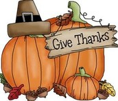 Share Thanksgiving with the TPCA family!