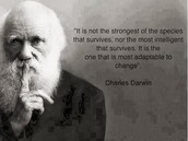 Evolution depends on adapting to Change