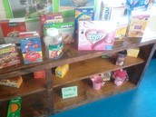 The Home & Garden section of our classroom store.