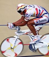 Indurain racing in Giro De' Itailia