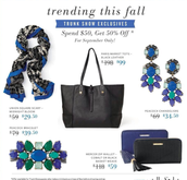 September Trunk Show Event Exclusives