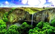 Spring Cliffs, Enhanced Photograph