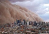 Present Day Dust Storms