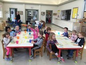 Snack Time with Mrs. Lynch's Pre-K