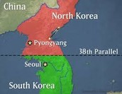 What is the 38th parallel? How did it delay the Cold War?