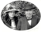 Edison and his Wife