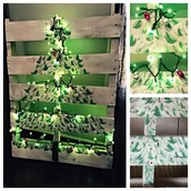 Pallet Trees and Decorations