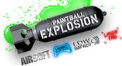Here is Paintball Explosion's Logo