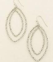 Bardot Silver Earrings $15.00