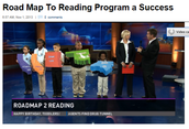 Walk-In Day for GCS and Roadmap2Reading WFMY Kickoff