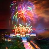 Vayan ver los fuegos artificiales 04 de julio
