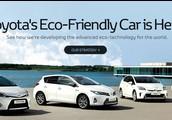 Toyota ecofriendly car