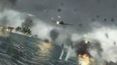 The air battles
