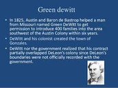 GreenDeWitt facts