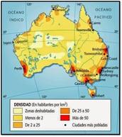 Mapa densidad de población