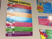 One of the first things we did in ELA was reading strategies.