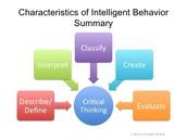Summary of Intelligent Behavior