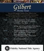 Feb. 9th - Fidelity's Gilbert Home Tour