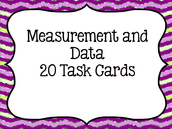 Center 4 - Measurement and Data Task Cards