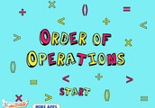 What is order of operations?