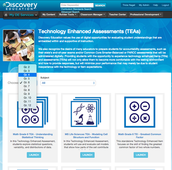 Administer technology enhanced assessments designed to expose students to new item types.
