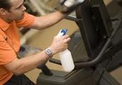 Keep gyms clean