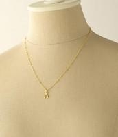 Wishbone Charm with Chain
