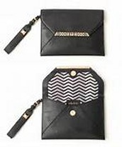 Avalon Clutch-Black