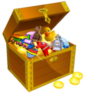 Classroom Treasure Chest and Lined Writing Paper!!