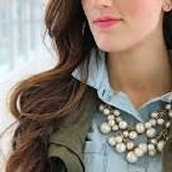 Daphne Pearl Necklace - Sale Price $49, Retail $98