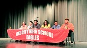 Congratulations to all of the DCHS seniors who signed to play college athletics yesterday during National Signing Day.