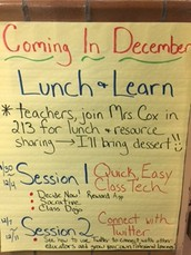 Lunch and Learn Feedback