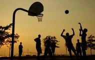 Un Parque con Basquetbol
