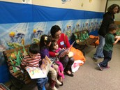 CES Invites Parents to Read at the Book Fair!