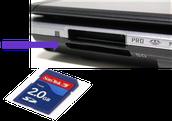 Computer SD Card.
