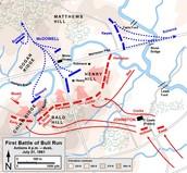 Union retreat route