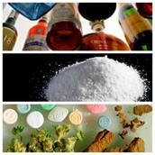 Clasificación de las drogas.